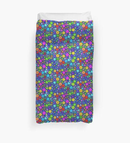 #DeepDream Color Circles Visual Areas 5x5K v1448629304 Duvet Cover