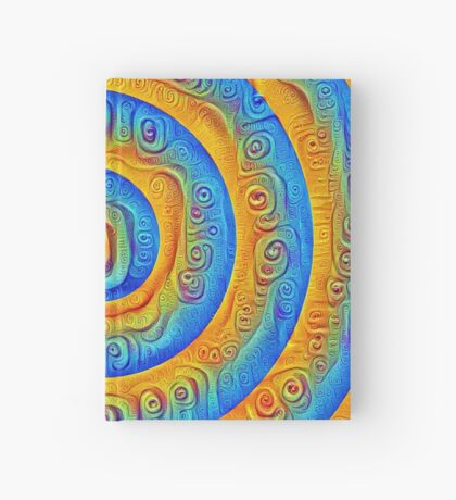 #DeepDreamed Swirl Hardcover Journal