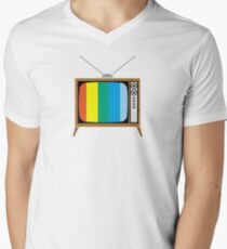 Retro TV Men's V-Neck T-Shirt