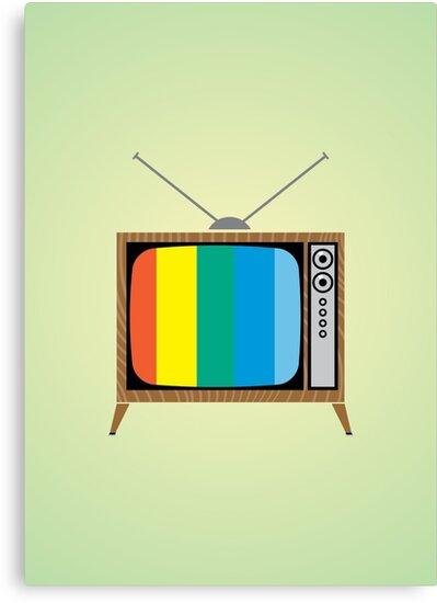 Retro TV by MrAparagi