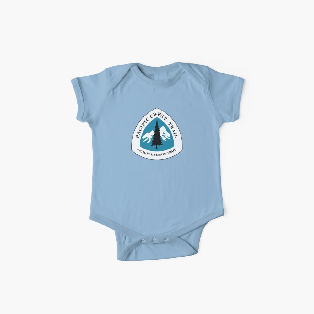 Pazifisches Wappen-nationales szenisches Hinterzeichen, USA Baby Bodys