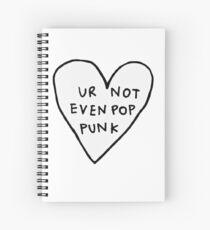 Bandas De Rock Dibujo Cuadernos De Espiral Redbubble