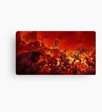 DOOM 2016 #2 Canvas Print
