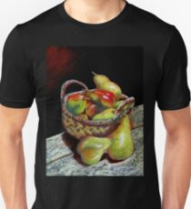 Apples and pears Pastel Painting T-Shirt