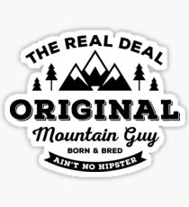 Original Mountain Guy  Sticker