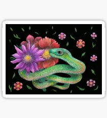 i will bring you flowers  Sticker
