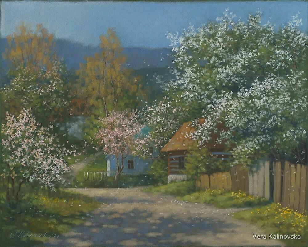Countryside view by Vira Kalinovska