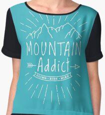 Mountain Addict Women's Chiffon Top