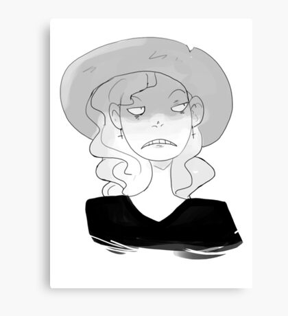 Sunhats are great Canvas Print
