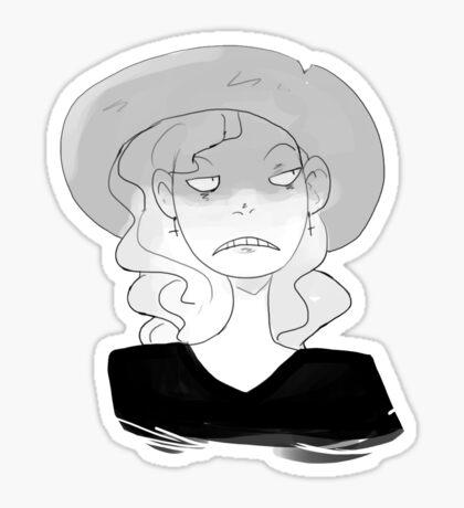 Sunhats are great Sticker