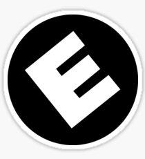 E Corp. Sticker