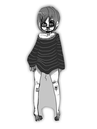 Greyscale cutie by 02321