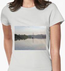 Dreamy Morn ~ Johnstone River, Innisfail, FNQ. AU Womens Fitted T-Shirt