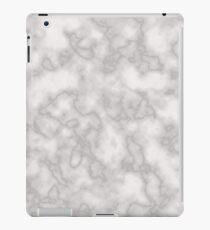 White solid marble iPad Case/Skin
