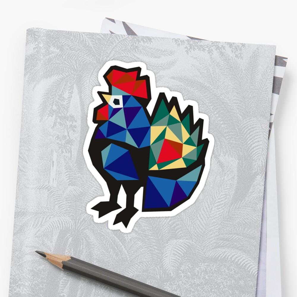 Polish Folk Rooster by XOOXOO