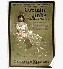 Captain Jinks of the Horse Marines - Strobridge - 1902 Poster