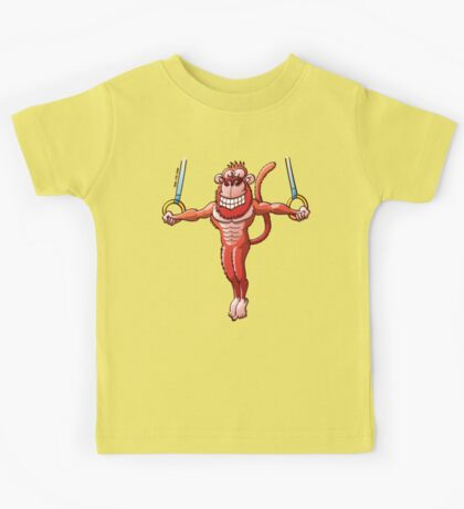 Flying Rings Monkey Kids Clothes