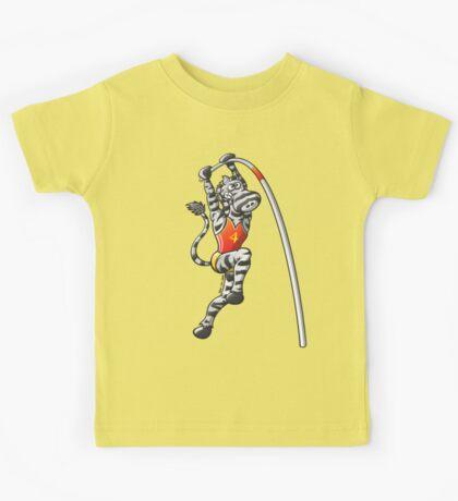 Pole Vault Zebra Kids Clothes