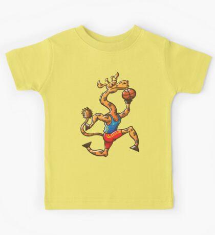Basketball Giraffe Kids Clothes