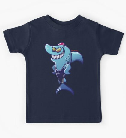 Swimmer Shark Kids Clothes