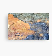 Rock Pattern Canvas Print