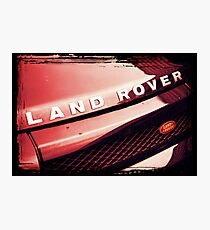 SUV Photographic Print