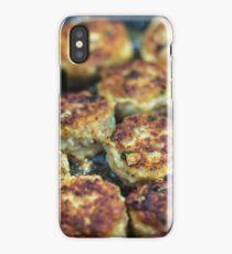 Meatballs cooking iPhone Case/Skin