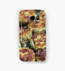 Meatballs cooking Samsung Galaxy Case/Skin
