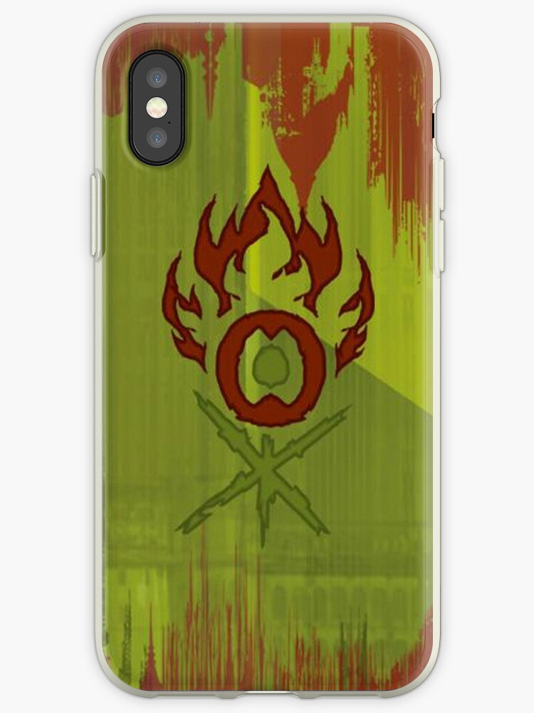 online store d575d 627d3 'Magic the Gathering, Gruul' iPhone Case by DracoS