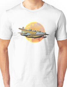 Retro seaplane Unisex T-Shirt