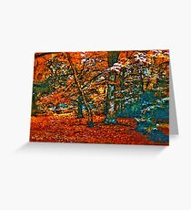 WOODLAND 7D Greeting Card
