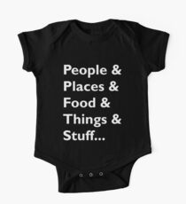Everything Helvetica Hipster Kids Clothes