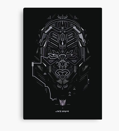 Decepticon  Canvas Print