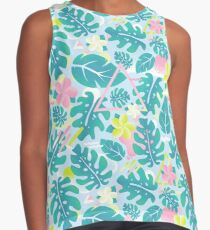 Tropical summer pattern Contrast Tank