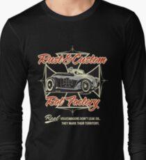 Rat Factory Rust & Custom Long Sleeve T-Shirt