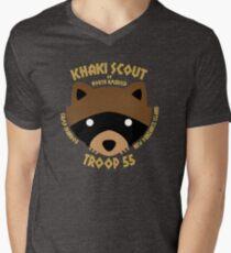 Khaki Scouts of North America Men's V-Neck T-Shirt