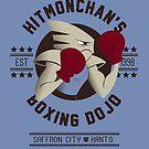 Hitmonchan Boxing Dojo by Adam Del Re