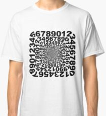 Numbers Frame Vortex Classic T-Shirt