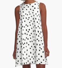 dalmatian spots A-Line Dress