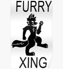 FURRY XING Poster