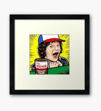 Stranger Pudding Framed Print