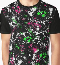 paint drop design - abstract spray paint drops 2 Graphic T-Shirt