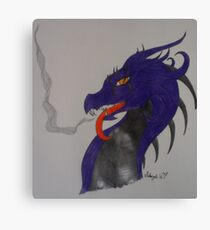 Poison Dragon Canvas Print