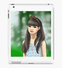 Korean Girl iPad Case/Skin
