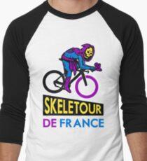 Cycling Skeletor Men's Baseball ¾ T-Shirt