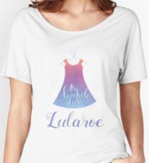 My favorite dress Lularoe Women's Relaxed Fit T-Shirt