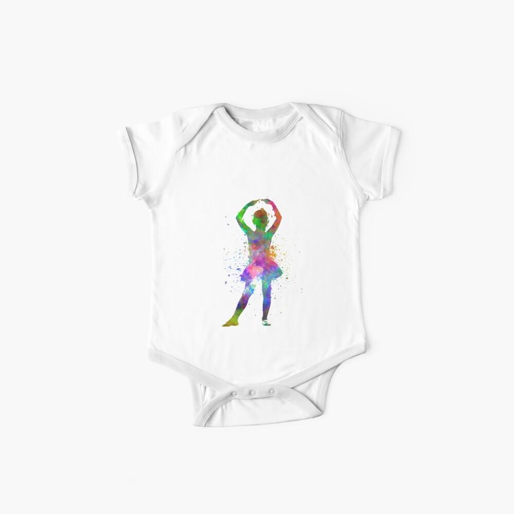 Ballerina-Balletttänzertanzen des kleinen Mädchens Baby Body