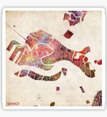 Venice map Sticker