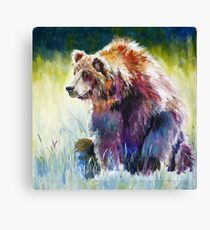 The Rainbow Bear Canvas Print
