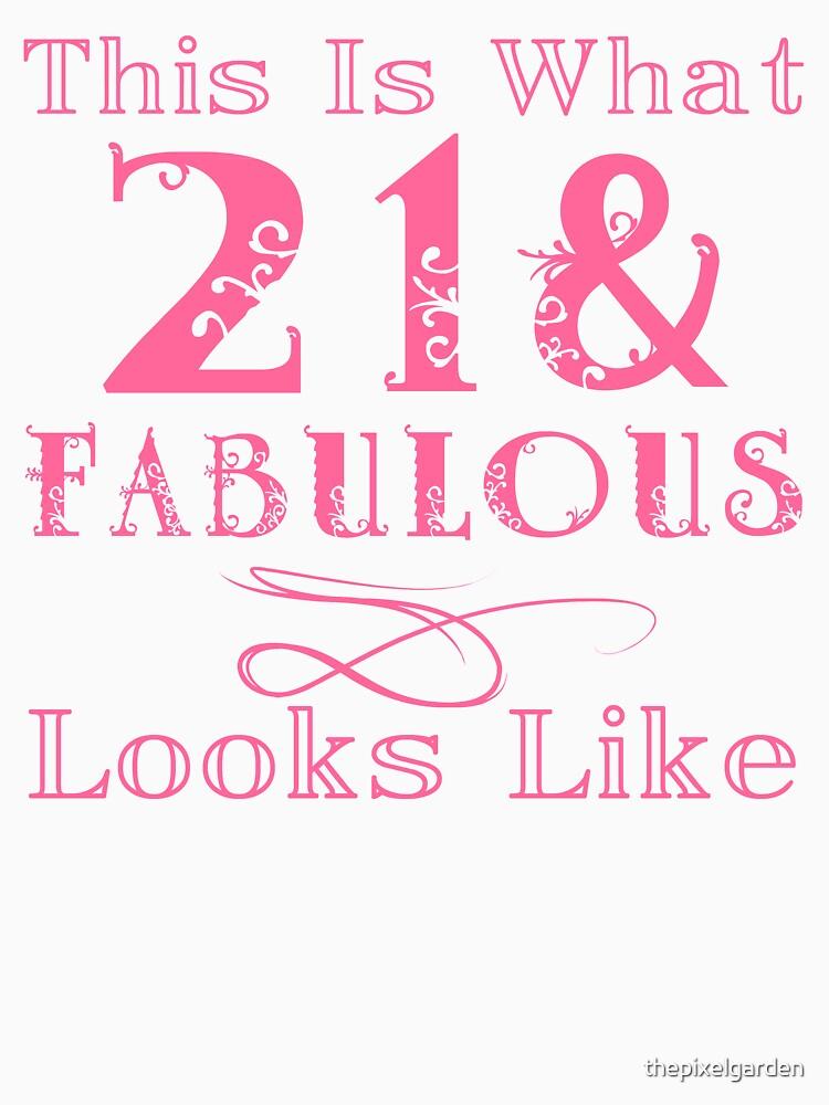 Fun Fabulous 21st Birthday by thepixelgarden